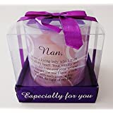 CANDLE GIFT SET IN BOX MOOD SPECIAL POEM CANDLES WAX MESSAGE POETIC WRITING NEW (Nan)