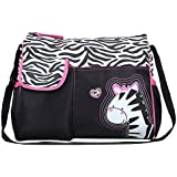 Generic Diaper Handbag - Zebra Pattern - Multi Color