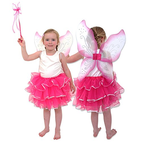 Fee Kostüm Kinder Pink - Ballerina Kostüm Kinder -