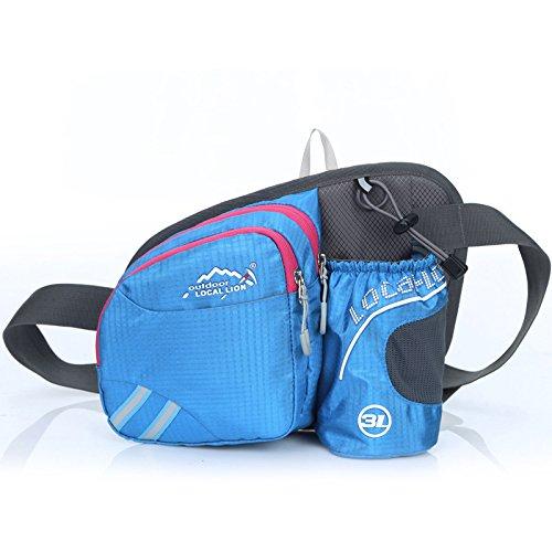Taschen Brust Tasche Umhängetaschen laufen Sport Wasserflasche Fanny Pack Herren Outdoor-Dienstprogramm-Paket 1