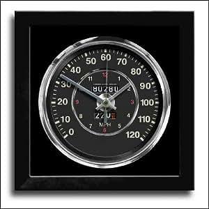 Porsche 356Speedo cadran horloge murale