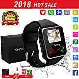 Bluetooth Smart Watch Phone Touchscreen Armbanduhr Handy-uhr Sport Smartwatch Uhr Wasserdicht Fitness Intelligente Smart Uhr Telefon Kompatible IOS Andriod Iphone