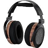 Audeze el-8Rückseite schwarz, Holz ohraufliegend Stirnband Kopfhörer–Kopfhörer (ohraufliegend, Haarband mit Draht, 10Hz–50000, 2m, Schwarz, Holz)