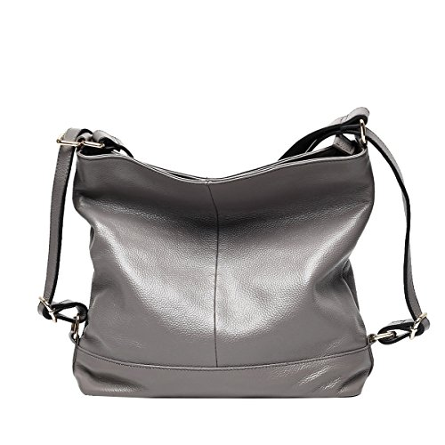 Mena UK-Femmes nouveau cuir artificiel Multi-usages Casual Soft Leather Sac à main / Sac à bandoulière / Messenger Bag