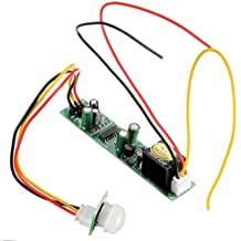 ILS - DC 12V 5A IR Pyroelectric Infrared PIR Motion Sensor Detector Module