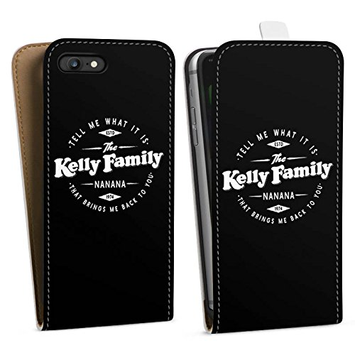 Apple iPhone 6 Silikon Hülle Case Schutzhülle The Kelly Family Nanana Merchandise Fanartikel Downflip Tasche weiß