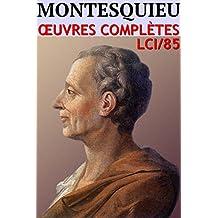 Montesquieu - Oeuvres Complètes (85)