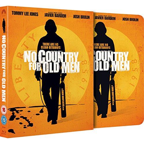 Bild von No Country For Old Men, Steelbook im Schuber, Blu-ray, nur 2.000 Stück,Zavvi Exclusive Limited Full Slip Edition Steelbook (UK Import ohne dt. Ton) Uncut, Regionfree