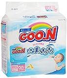 GOO.N Baby Windeln New Born Gr. XS (2-5 kg) 90 Stück Premium Qualität Made in Japan - perfektes Geschenk für Mama und Baby!