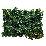 MagiDeal Künstliches Gras- DIY Miniatur Rasen, Garten Verzierung, 8-Stil Auswählbar - Grün A
