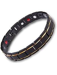 Bracelet Bangle Acier Inoxydable - Bijoux MURTOO - Bénéfique pour le corps - Avec Un Régulateur