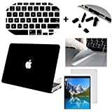 For NEW Apple MacBook Pro 15-inch with Retina Display A1398, (Get 4 SAViOUR Accessories FREE for MAC) Hard Shell Skin Cover Case For NEW Apple MacBook Pro 15-inch with Retina Display A1398 , Hard Shell Case cover (Black -03)
