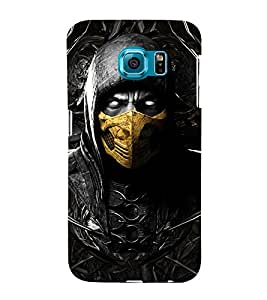 Scary Character 3D Hard Polycarbonate Designer Back Case Cover for Samsung Galaxy S6 Edge+ :: Samsung Galaxy S6 Edge Plus :: Samsung Galaxy S6 Edge+ G928G :: Samsung Galaxy S6 Edge+ G928F G928T G928A G928I