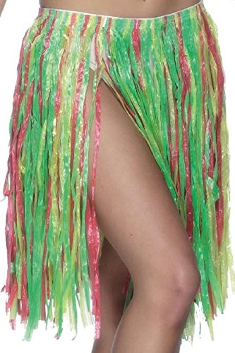 Smiffy's 340 - Hawaiian Hula Rock- Elasticated, 56 cm, 22 Zoll (Hawaiian Dress Up Kostüme)