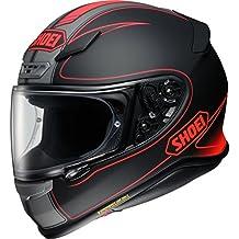 Shoei NXR Flagger Motorcycle Helmet S Matt Red Black (TC-1)