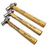 3er-Ball Pein Hammer professionelles Set von BERGEN AN205
