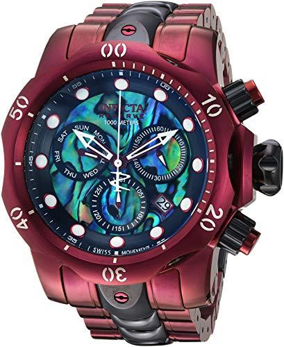 Invicta Men's Reserve 53mm Steel Bracelet & Case Swiss Quartz Watch 25917