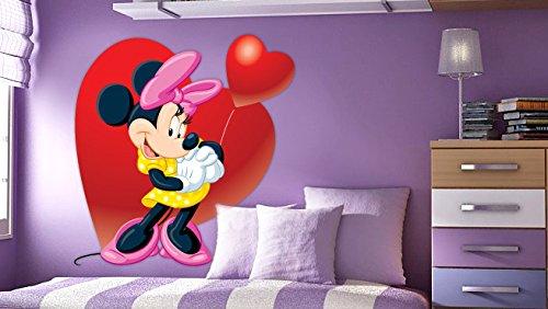Minnie Maus-Wand-Aufkleber-Dekor-Abziehbild-Kunst für (König Kinder Kostüm Diy)