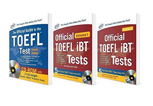 The Ultimate TOEFL iBT Test Prep Savings Bundle: The Official Guide to the Toefl Test 4th Ed. / Official Toefl Ibt Test Vol. 1 & 2, 2nd Ed. PDF Books