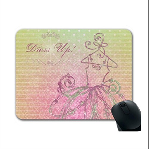 Personalisierte Mousepads 12.87 in pink Spiel Maus Pads (Personalisierte Tutu)