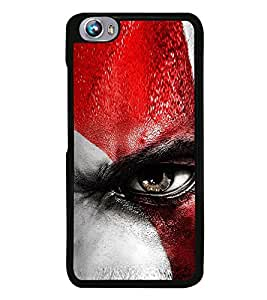 Vizagbeats Angry Eye Back Case Cover for MICROMAX FIRE 4 A107