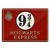 Harry Potter Small Tin Sign - Platform 9 3/4