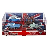 Disney / Pixar CARS 2 Movie Exclusive 148 Die Cast Car 4Pack Save the Queen Finn McMissile, Queen, Mater Miles Axelrod by Disney