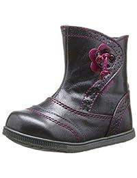 bottes fille sucre d'orge alysée gris violet filles sucre d'orge k82sucre001