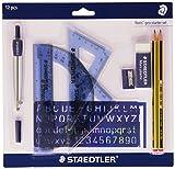 Staedtler 569 120 P1 Noris Geo - Set di 10 articoli di cancelleria di base
