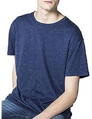 Cheap Monday Men's Standard Man's T-Shirt In Petrol Color 100% Cotton