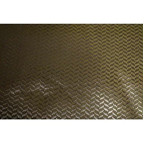 Triveni Indian Gold Petals Stoff (Silk Petal Kleid)
