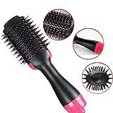 3-in-1 Hot Air Spin Brush Asciugacapelli per uso domestico e styler e volumizzante per lo styling Frizz Control Pennello per arricciatura auto-rotante Crea il tuo taglio di capelli