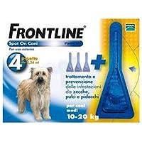 FRONTLINE-SPOTON per cani piccoli 2-10Kg 4 pipette 10036 - Pet Farmacia Fiala