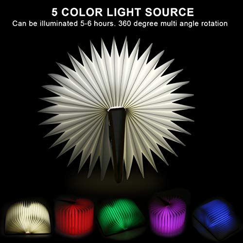 Faltbare Buchlampe LED