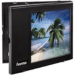 """Hama Telescreen """"Vidéotransfer"""" (réalisation et numérisation faciles de formats vidéo anciens, avec miroir de renvoi, écran 20 x 20 cm) Noir"""