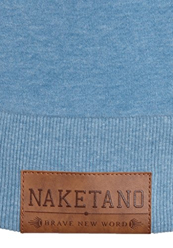 Naketano Male Sweatshirt Kubilay VI Light Blue Melange