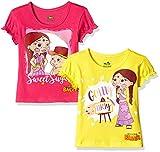 #7: Chhota Bheem Girls' T-Shirt (Pack of 2)