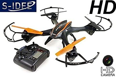 s-idee® 01217 Quadrocopter U842 HD Camera, 4.5-Channel, 2.4 GHz, Drone with Gyroscope Technology Battery Alert