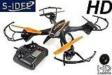 s-idee® 01217 Quadrocopter U842 HD KAMERA 4.5 Kanal 2.4 Ghz Drohne mit Gyroscope Technik Akkuwarner
