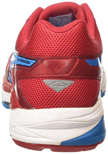 Preto 12 2342 Homens Asics Correndo corridas Azul Metileno De Vermelhos Fundação Gel Sapatos Vermelho q7wTgn1U