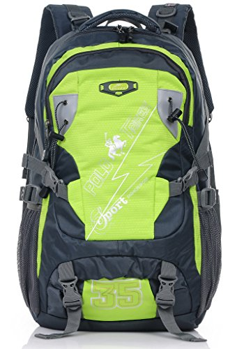 Binlion Taikes Outdoor Backpack Climbing Backpack Sport Bag Camping Backpack Black-1