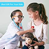 Back Pack Doctor Nurse Medical Kit Carry Case Role Play Set Gift Educational Toy 17Pcs Age 3 Years and Up