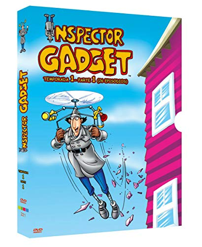 El Inspector Gadget, Temporada 1 (Serie Clasica) 4dvd