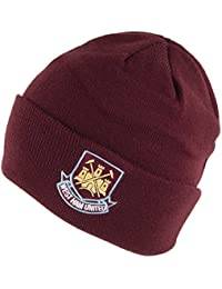 044fb10dadf Village Hats West Ham United FC Core Cuffed Beanie Hat - Burgundy