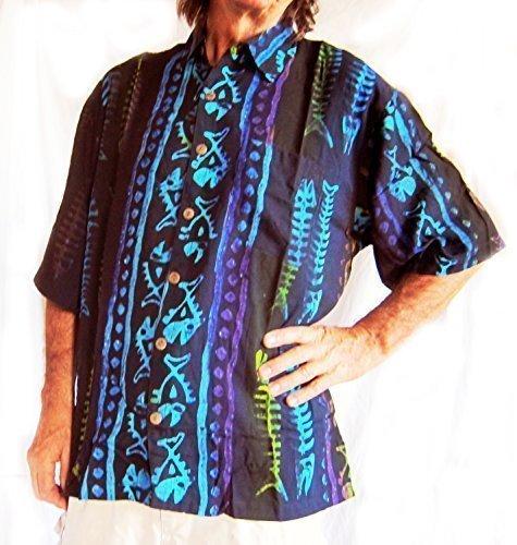 fechten / Rock Star / Morris Baumwoll Hemd, Goth, Rockabilly, Kostüm, Neu - Schwarz, L- 52