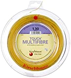 Kirschbaum Spule Touch MultiFiber Tennissaiten, MF125-100, Natur, 1.25mm/17-Gauge