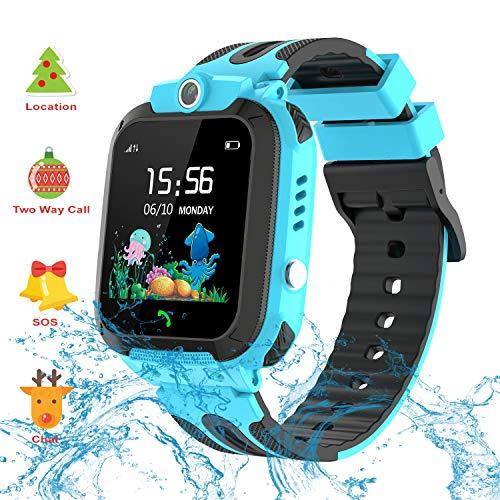 Vannico Smartwatch Niños, Reloj GPS Niño Inteligente Niña IP68 Impermeable con GPS...