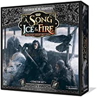 CoolMiniOrNot CMNSIF002 Song of Ice and Fire Miniatures Game: Night's Watch Starter Set, Mixed Colours