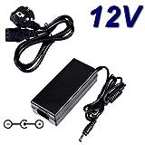 Top cargador Adaptador alimentación cargador 12V para televisor TV ANSONIC LED TDT 2004V