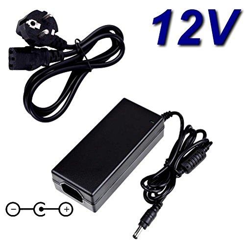 Top Ladegerät ® Netzadapter Ladegerät 12V für Ersatz CWT CHANNEL WELL TECHNOLOGY kpl-060F TPV